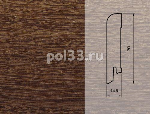 Плинтуса и пороги Pedross Шпонированный 70/15мм Сукупира купить в Калуге по низкой цене