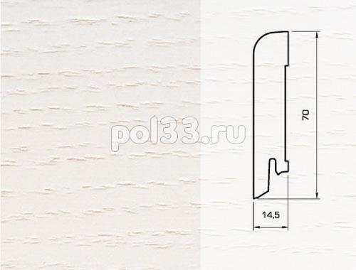 Плинтуса и пороги Pedross Шпонированный 70/15мм Ясень беленый купить в Калуге по низкой цене
