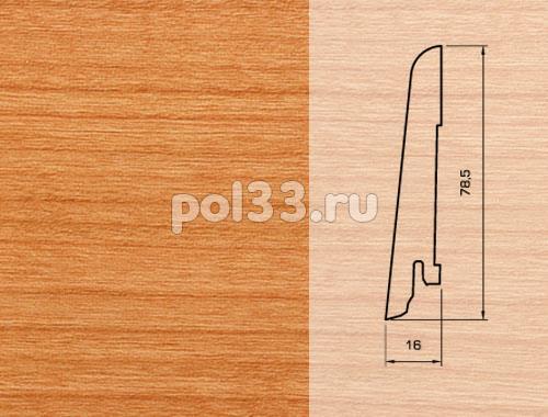 Плинтуса и пороги Pedross Шпонированный 80/16мм Вишня купить в Калуге по низкой цене
