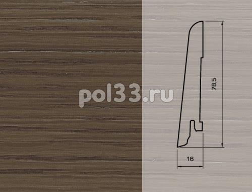 Плинтуса и пороги Pedross Шпонированный 80/16мм Дуб Вилликана купить в Калуге по низкой цене