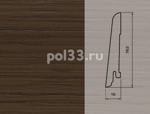 Плинтуса и пороги Pedross Шпонированный 80/16мм Дуб Романов купить в Калуге по низкой цене