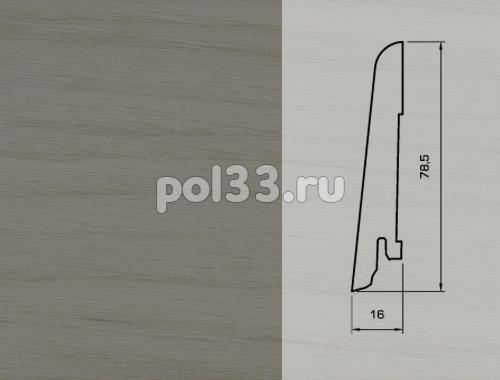 Плинтуса и пороги Pedross Шпонированный 80/16мм Дуб Фанди купить в Калуге по низкой цене