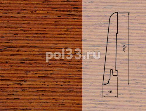 Плинтуса и пороги Pedross Шпонированный 80/16мм Мербау купить в Калуге по низкой цене