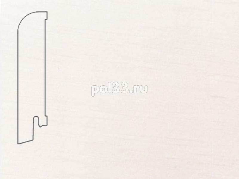 Плинтуса и пороги Pedross Шпонированный 80/18мм Белый гладкий купить в Калуге по низкой цене
