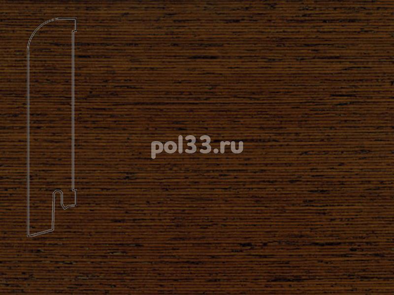 Плинтуса и пороги Pedross Шпонированный 80/18мм Венге купить в Калуге по низкой цене