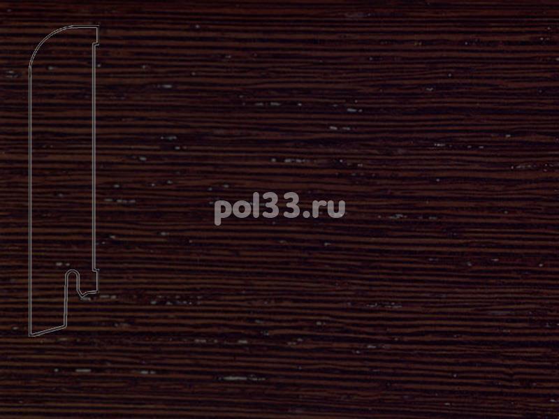 Плинтуса и пороги Pedross Шпонированный 80/18мм Венге ориджинал купить в Калуге по низкой цене
