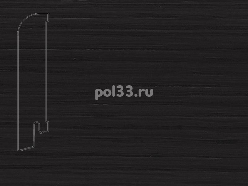 Плинтуса и пороги Pedross Шпонированный 80/18мм Дуб черный купить в Калуге по низкой цене