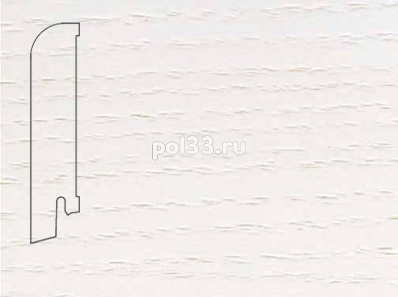 Плинтуса и пороги Pedross Шпонированный 80/18мм Ясень беленый купить в Калуге по низкой цене