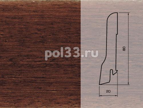 Плинтуса и пороги Pedross Шпонированный 80/20мм Ярра купить в Калуге по низкой цене