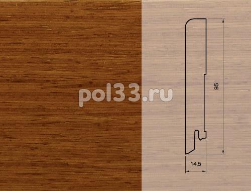 Плинтуса и пороги Pedross Шпонированный 95/15мм Дусси seg100 купить в Калуге по низкой цене
