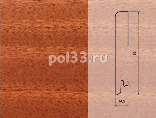 Плинтуса и пороги Pedross Шпонированный 95/15мм Махагон seg100 купить в Калуге по низкой цене