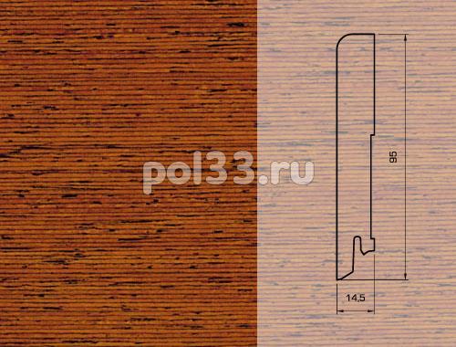 Плинтуса и пороги Pedross Шпонированный 95/15мм Мербау купить в Калуге по низкой цене