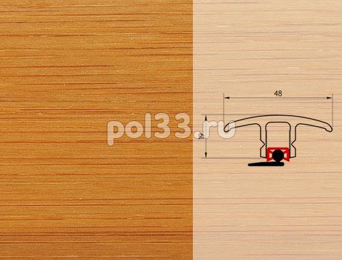 Плинтуса и пороги Pedross Молдинг шпонированный универсальный Бамбук темный купить в Калуге по низкой цене