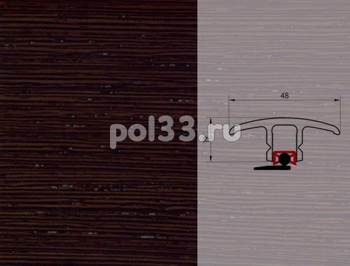 Плинтуса и пороги Pedross Молдинг шпонированный универсальный Венге ориджинал купить в Калуге по низкой цене
