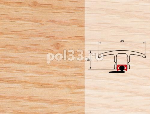 Плинтуса и пороги Pedross Молдинг шпонированный универсальный Дуб красный купить в Калуге по низкой цене