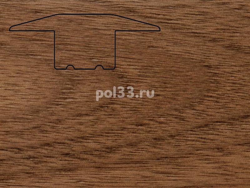 Плинтуса и пороги Pedross Молдинг массивный одноуровневый Орех купить в Калуге по низкой цене