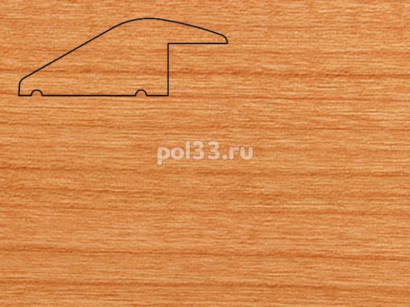 Плинтуса и пороги Pedross Молдинг массивный разноуровневый Вишня купить в Калуге по низкой цене