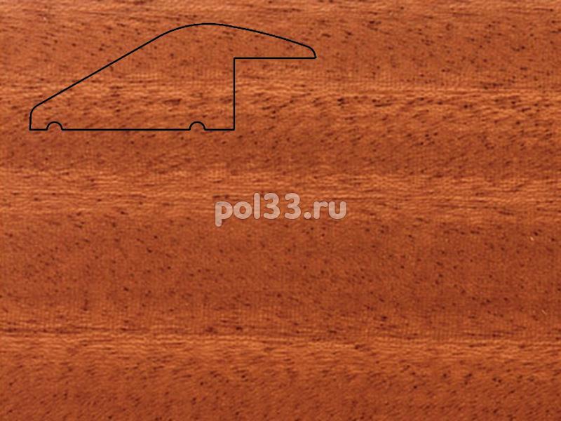 Плинтуса и пороги Pedross Молдинг массивный разноуровневый Махагон купить в Калуге по низкой цене