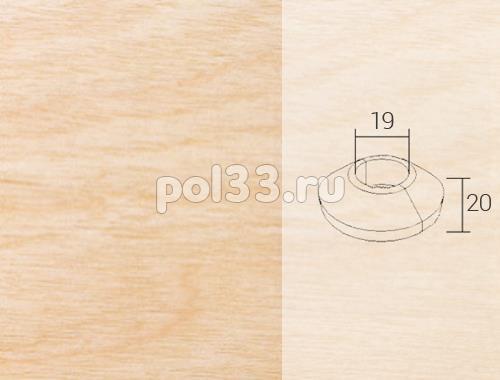 Плинтуса и пороги Pedross Кольцо массивное 19x20 Клен купить в Калуге по низкой цене