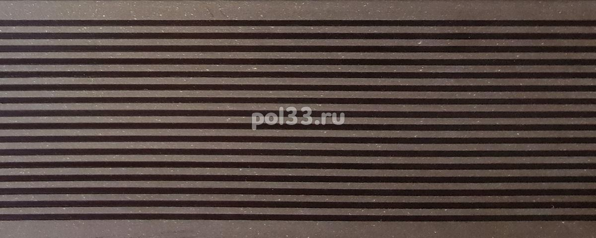 Террасная доска Deckron шовная Венге купить в Калуге по низкой цене
