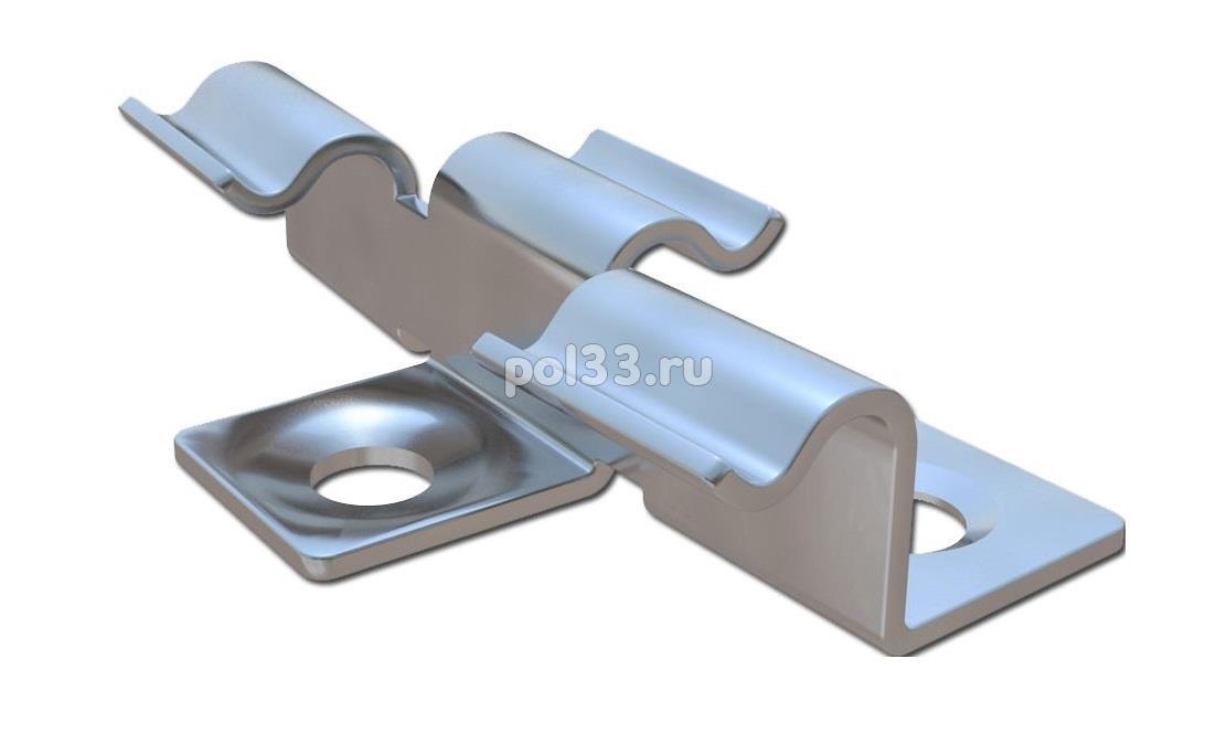 Металлический кляймер HILST FIX prof 3D для террасной доски купить в Калуге по низкой цене