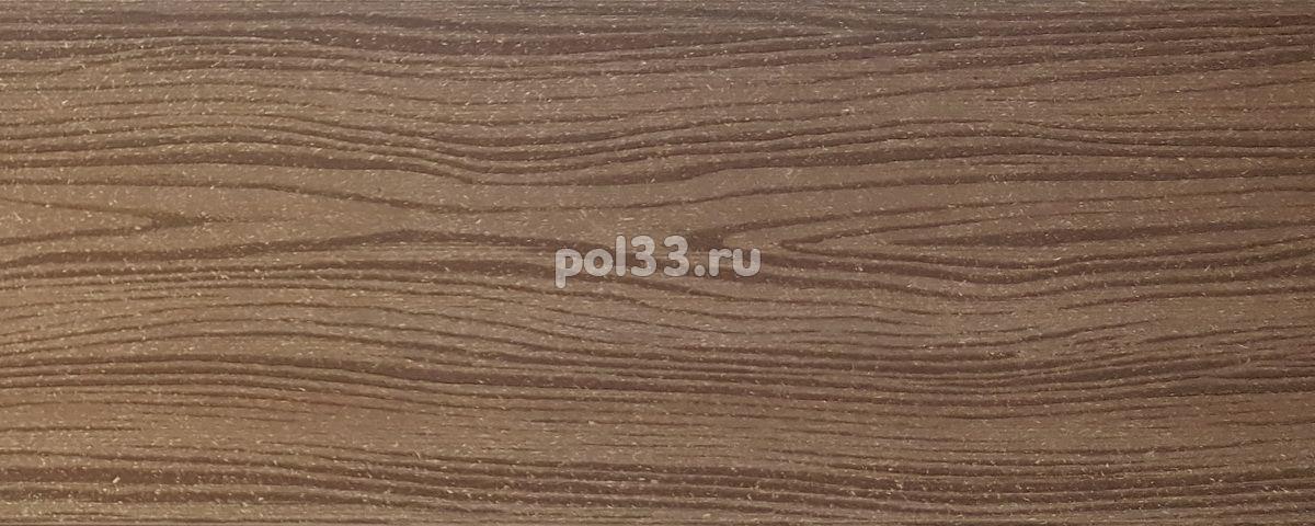 Универсальная доска ДПК Holzhof шовная Коричневый купить в Калуге по низкой цене