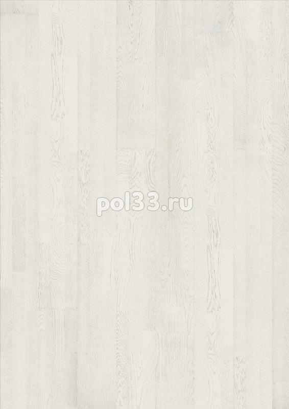 Паркетная доска Karelia коллекция Collection Light Дуб Sugar трехполосный купить в Калуге по низкой цене