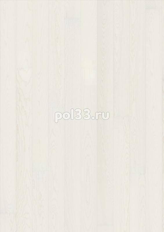 Паркетная доска Karelia коллекция Collection Light Ясень Story Shiny White однополосный купить в Калуге по низкой цене