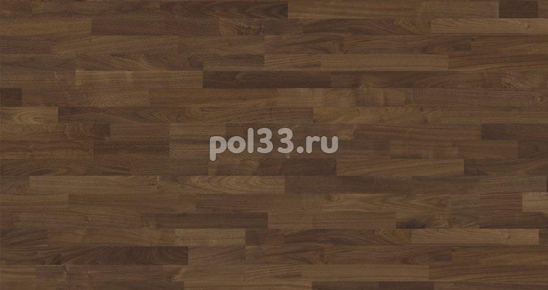Паркетная доска Karelia коллекция Collection Earth Орех селект трехполосный купить в Калуге по низкой цене