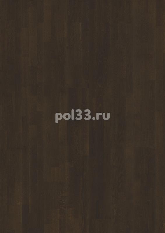 Паркетная доска Karelia коллекция Collection Midnight Дуб dark chocolate трехполосный купить в Калуге по низкой цене