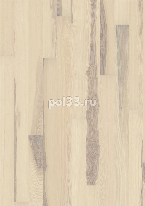 Паркетная доска Karelia коллекция Collection Polar Ясень кантри vanilla matt однополосный 138 мм купить в Калуге по низкой цене