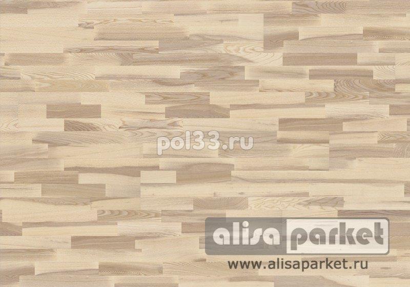 Паркетная доска Karelia коллекция Collection Polar Ясень кантри vanilla matt трехполосный купить в Калуге по низкой цене