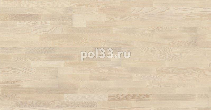 Паркетная доска Karelia коллекция Collection Polar Ясень натур vanilla matt трехполосный купить в Калуге по низкой цене