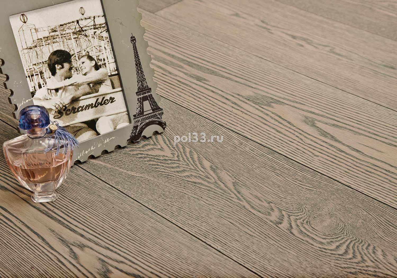 Паркетная доска Goodwin  Ясень брашированный Грау купить в Калуге по низкой цене