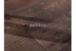 Массивная доска Parketoff коллекция Classic Дуб брашированный Богема 300-1600 мм