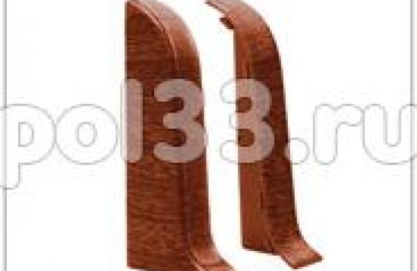 Плинтуса и пороги Ideal Идеал Комфорт Торцевые для плинтуса К55 (пара) Т55п