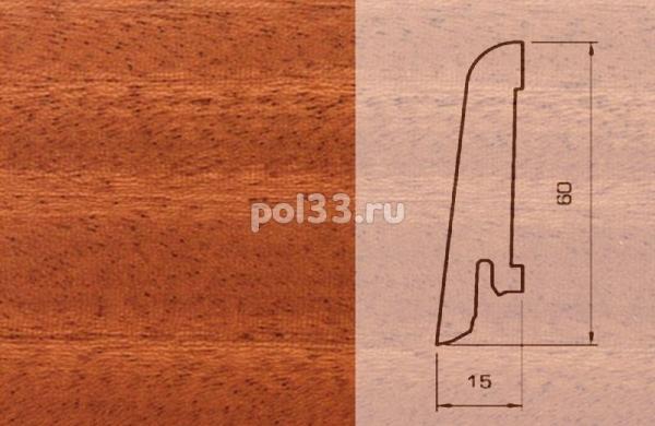 Плинтуса и пороги Pedross Шпонированный 60/15мм Махагон