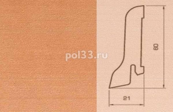Плинтуса и пороги Pedross Шпонированный 60/22мм Груша