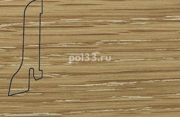 Плинтуса и пороги Pedross Шпонированный 60/22мм Дуб затертый