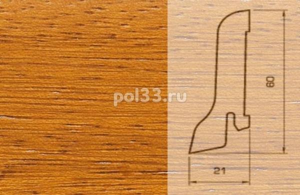 Плинтуса и пороги Pedross Шпонированный 60/22мм Ироко