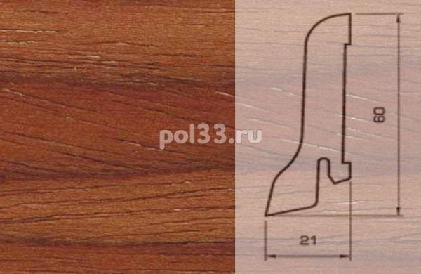 Плинтуса и пороги Pedross Шпонированный 60/22мм Кемпас