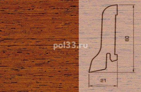 Плинтуса и пороги Pedross Шпонированный 60/22мм Мербау