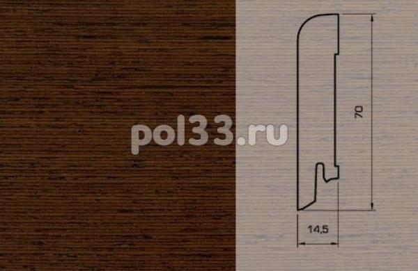 Плинтуса и пороги Pedross Шпонированный 70/15мм Венге