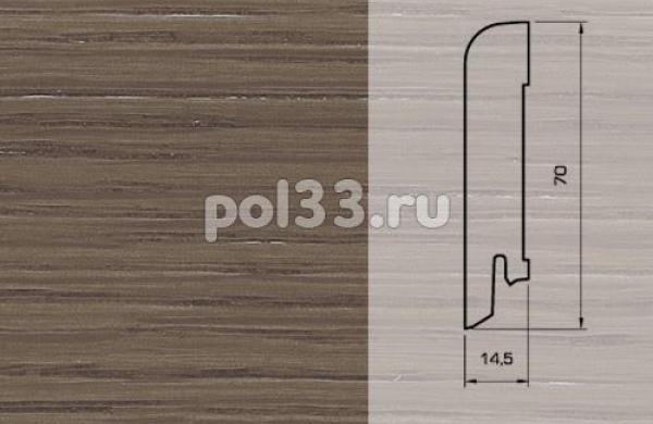 Плинтуса и пороги Pedross Шпонированный 70/15мм Дуб Плантагенет