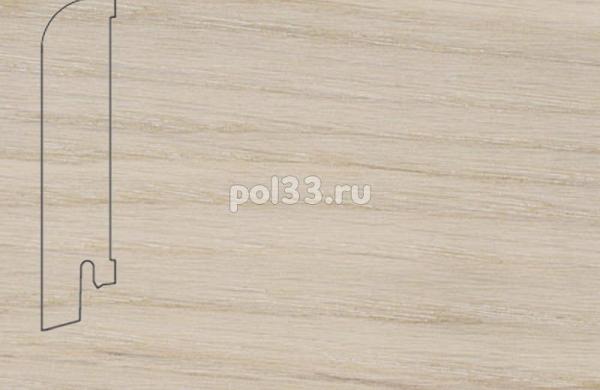 Плинтуса и пороги Pedross Шпонированный 80/18мм Дуб беленый
