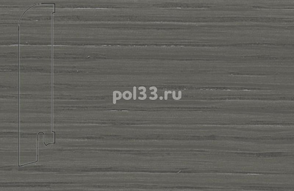 Плинтуса и пороги Pedross Шпонированный 80/18мм Дуб Грей
