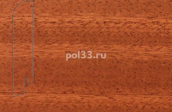 Плинтуса и пороги Pedross Шпонированный 80/18мм Махагон