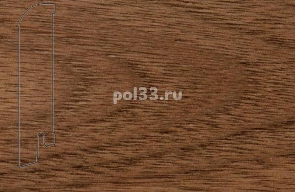 Плинтуса и пороги Pedross Шпонированный 80/18мм Орех