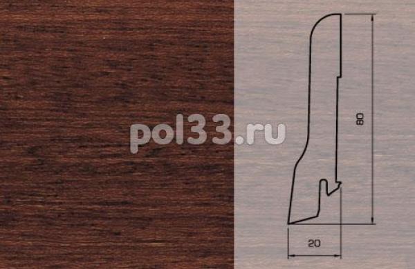 Плинтуса и пороги Pedross Шпонированный 80/20мм Ярра
