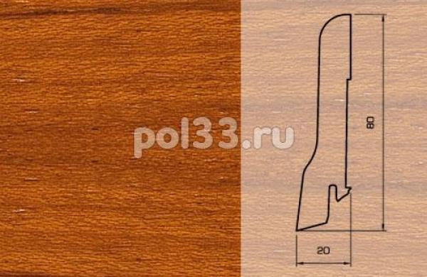 Плинтуса и пороги Pedross Шпонированный 80/20мм Ятоба